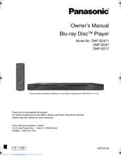 panasonic dmp bd87 manuals rh manualslib com panasonic dmp-bd87 manual Panasonic DMP Bd35