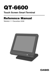 Casio QT-6600 Reference Manual