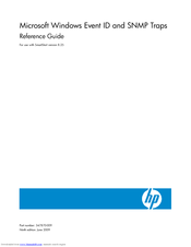 HP 108164-003 800 Reference Manual