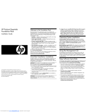 HP DL2x170h - ProLiant - G6 Installation Manual