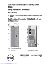 dell precision workstation t7600 manuals rh manualslib com dell precision t3600 manual dell precision t3610 owner manual