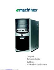 emachines h5270 manuals rh manualslib com eMachines T3642 Manual eMachines Desktop Parts