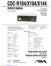 aiwa cdc x104 manuals rh manualslib com aiwa cdc x504mp wiring diagram aiwa cdc x217 wiring diagram