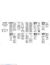 alpine cde 110 manuals alpine cde-136bt manual español alpine cde-136bt user manual