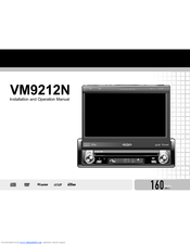 jensen vm9212n multimedia cd dvd receiver manuals. Black Bedroom Furniture Sets. Home Design Ideas