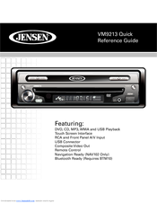 jensen cd 560 bluetooth instructions