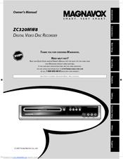 magnavox zc320mw8 dvd recorder with tv tuner manuals rh manualslib com magnavox dvd recorder zc320mw8b manual Walmart DVD Recorder with Tuner