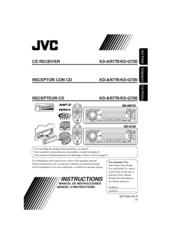 jvc kd g720 radio cd instructions manual pdf download rh manualslib com jvc kd-g720 user manual JVC KD X50BT Manual