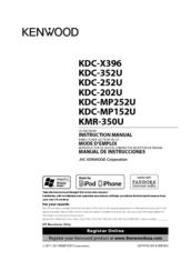 Kenwood Kdc 352u Manuals Manualslib