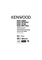 kenwood kdc mp745u manuals