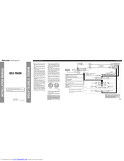 Pioneer DEH-P6400 Manuals on pioneer radio wiring diagram, pioneer deh 3400ub wire diagram, deh 1500 wiring diagram,