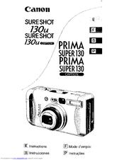 canon sure shot 130u manuals rh manualslib com canon sure shot manual pdf canon sure shot supreme manual