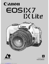 canon ix lite eos ix lite aps slr camera manuals rh manualslib com canon eos ix manual pdf canon eos ix lite manual