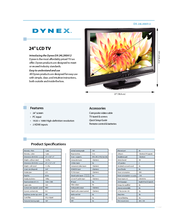Dynex DX-24L200A12 Specifications