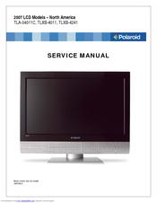 polaroid 4011 tlxb 40 lcd tv manuals rh manualslib com Polaroid LCD TV Brand Polaroid LCD TV Codes