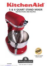 kitchenaid kt2651xww manuals rh manualslib com kitchenaid mixer owner's guide kitchenaid mixer user instructions