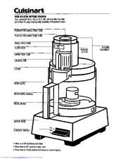 cuisinart dlc 10c classic original food processor use and care rh manualslib com cuisinart food processor manual prep 11 plus cuisinart food processor manual