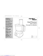 hamilton beach 70740 manuals rh manualslib com hamilton beach food processor manual 702-4 hamilton beach food processor manual 70730
