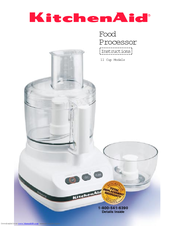 Merveilleux KitchenAid KFP600   Ultra Power Food Processor Instructions Manual
