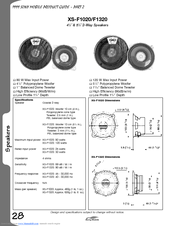 Sony 2 Way Speakers Product Manual