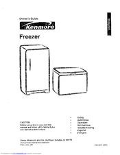 Kenmore 253. Series Owner's Manual