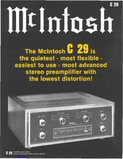 mcintosh c29 manuals rh manualslib com