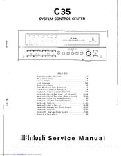 mcintosh c35 service manuals rh manualslib com