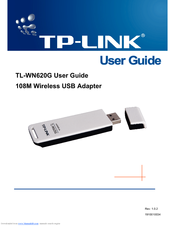 NEW DRIVERS: TP-LINK WN620G