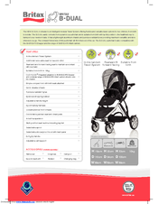 britax b dual manuals rh manualslib com britax romer instruction manual britax b safe instruction manual