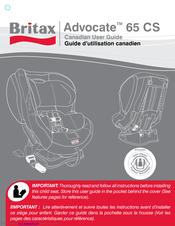 Britax Advocate 65 Cs Manual