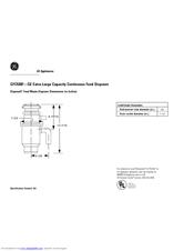 ge gfc530f manuals rh manualslib com Garbage Disposal Drain Connection Garbage Disposal Sink