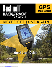Bushnell 360100 backtrack point-3 personal gps locator (gray.