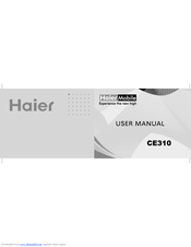 Haier CE310 User Manual