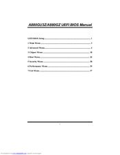 DRIVER UPDATE: BIOSTAR A880GU3Z