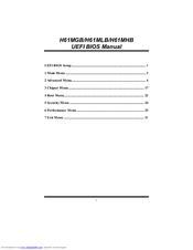 BIOSTAR H61MHB MANUAL Pdf Download