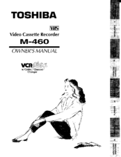 Toshiba M460 Owner's Manual