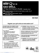 weber q 320 owner s manual pdf download rh manualslib com Weber Q 300 GrillGrates weber q 3200 manual