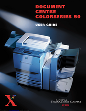 Xerox Document Centre ColorSeries 50 Treiber Windows 10