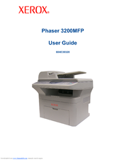 DRIVER 3200MFP PHASER TÉLÉCHARGER XEROX