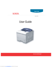Xerox 3600B - Phaser B/W Laser Printer User Manual