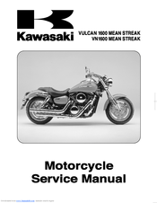 kawasaki vn1600 mean streak service manual pdf download rh manualslib com 2007 Mean Streak Special Edition 1600 2007 kawasaki mean streak service manual