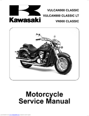Kawasaki Vn900 Classic Service Manual Pdf Download Manualslib