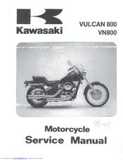 kawasaki vn800 service manual pdf download rh manualslib com 2008 Kawasaki Vulcan 800 2001 kawasaki vulcan 800 service manual
