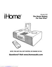 ihome ih8 manuals rh manualslib com iHome Headphones iHome Mouse Manual