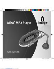 iomega 33307 mixx 256 mb mp3 player manuals rh manualslib com Sony MP3 Player Manual Onyx MP3 Player Instructions