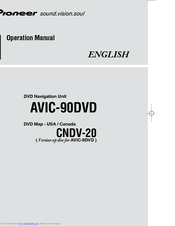 Pioneer AVIC S2 - Automotive GPS Receiver Operation Manual
