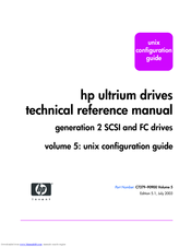 HP 330834-B21 - StorageWorks Ultrium 460 Tape Library Drive Module Technical Reference Manual