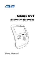 Asus AIGURUSV1 - Eee Videophone AiGuru SV1 Wireless IP Video Phone User Manual
