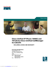 Cisco CP-7905 Phone Manual