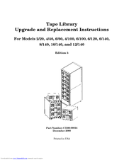 HP 10/140 Upgrade And Replacement Instructions